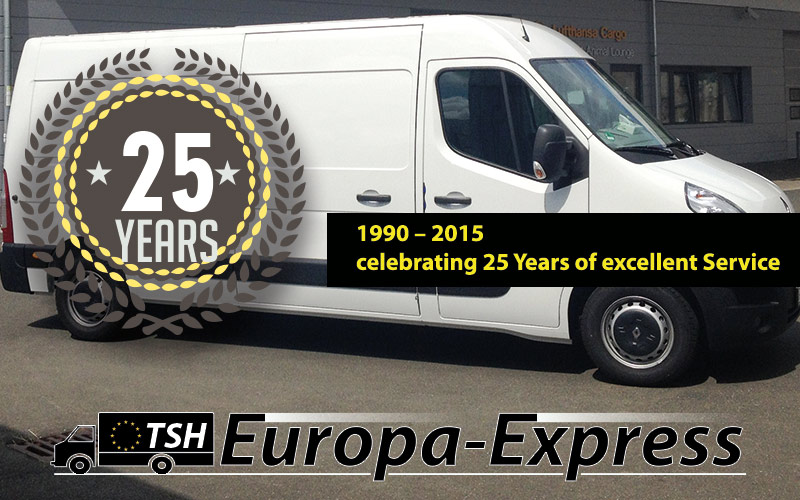 1990 – 2015 celebrating 25 Years of excellent Service