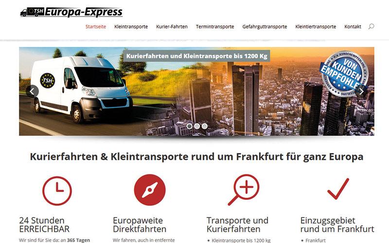 TSH-Europa-Express mit neuer Website