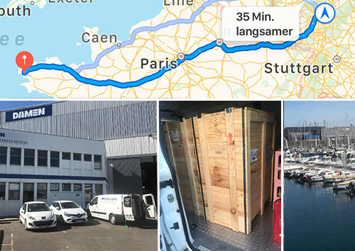 Lieferung: DAMEN – Shiprepair Brest