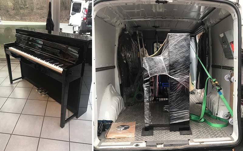 Klavier Transport | von Lautertal nach Frankfurt