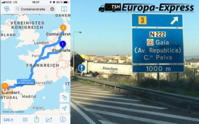 Portugal | 5 Transportbusse – 3,9 Tonnen