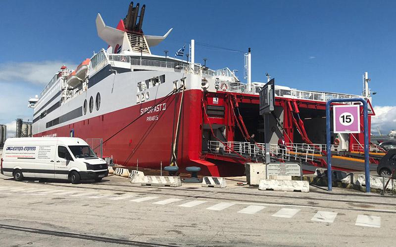 Auswandern nach Griechenland Transport
