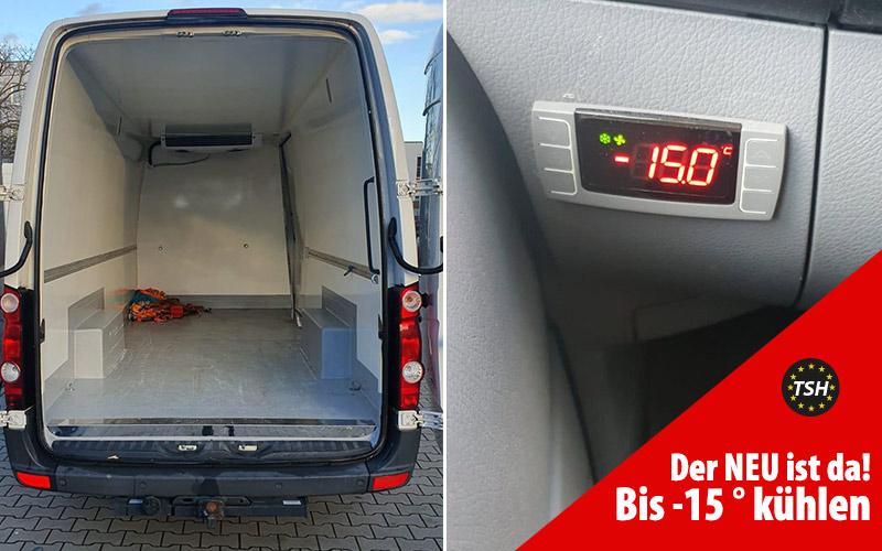 Ab jetzt: Unser Kühlfahrzeug für Kühltransporte bis zu - 15°C | Für Frischedienst / Obst / Gemüse / Fisch und alle Arten von gekühlten Transporten.